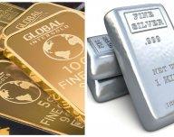 Zlato a stříbro - ilustrační foto