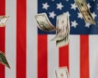 USA a americký dolar - ilustrační foto