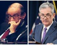 Alan Greenspan a Jerome Powell