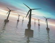 Větrná elektrárna v moři