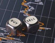 Buy, sell, nákup, prodej, graf