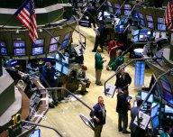 Tradeři na NYSE - ilustrační foto