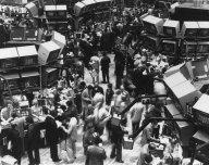 Makléři na NYSE v roce 1982
