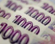 Česká koruna, bankovky - ilustrační foto