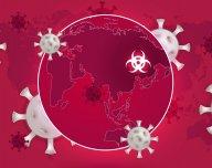 Koronavirus, COVID-19, světová ekonomika - ilustrační foto