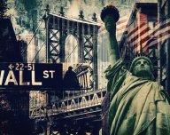 Wall Street, Spojené státy americké (USA) - ilustrační foto