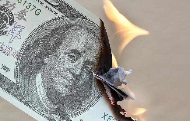 Inflace v USA, znehodnocení dolaru - ilustrační foto