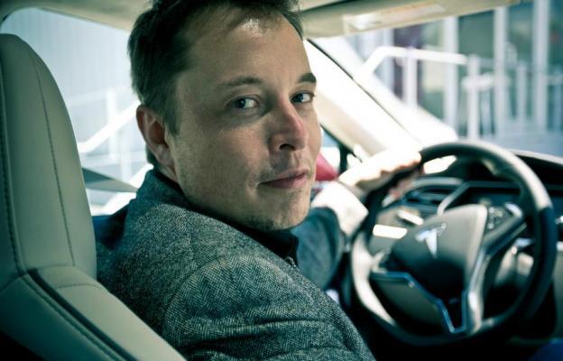 Elon Musk, Tesla Motors - ilustrační foto
