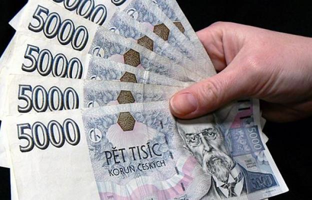 České bankovky - ilustrační foto