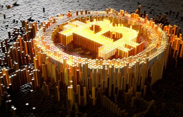Bitcoin, kryptoměny - ilustrační foto