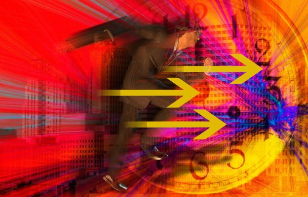 Pospíchání, spěch, rychlost - ilustrační foto